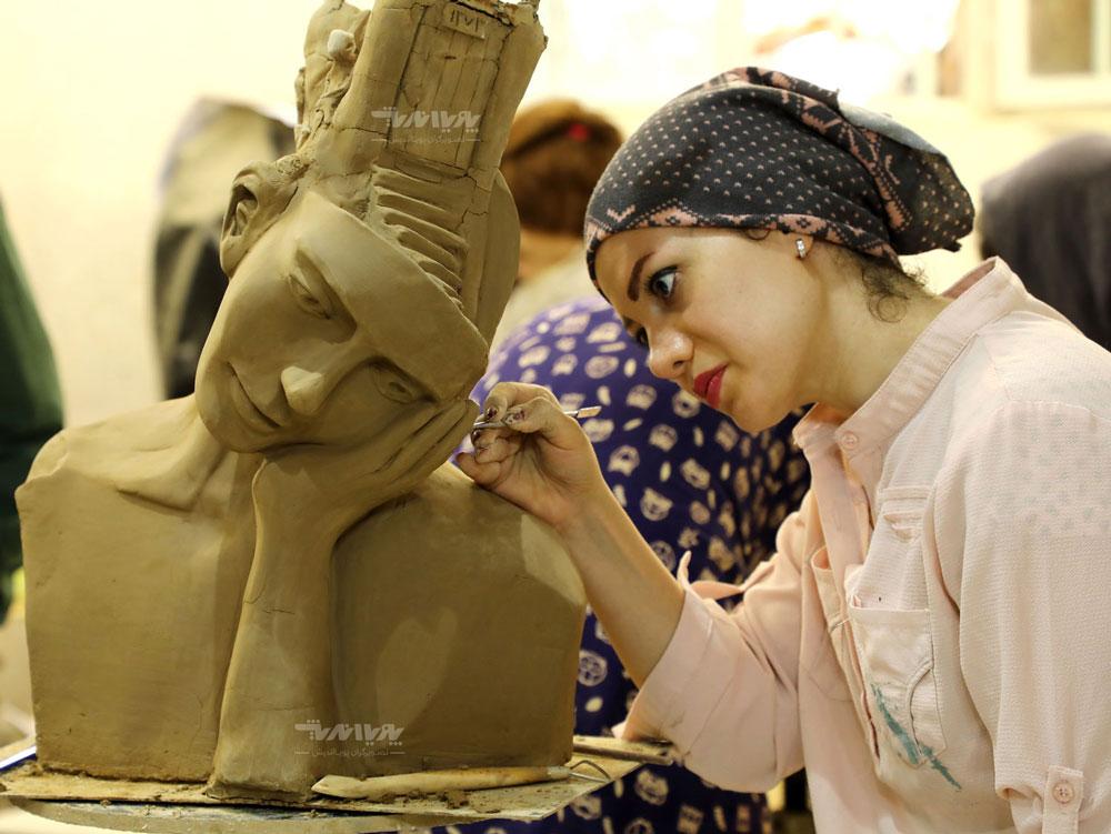 کلاس های آموزش مجسمه سازی