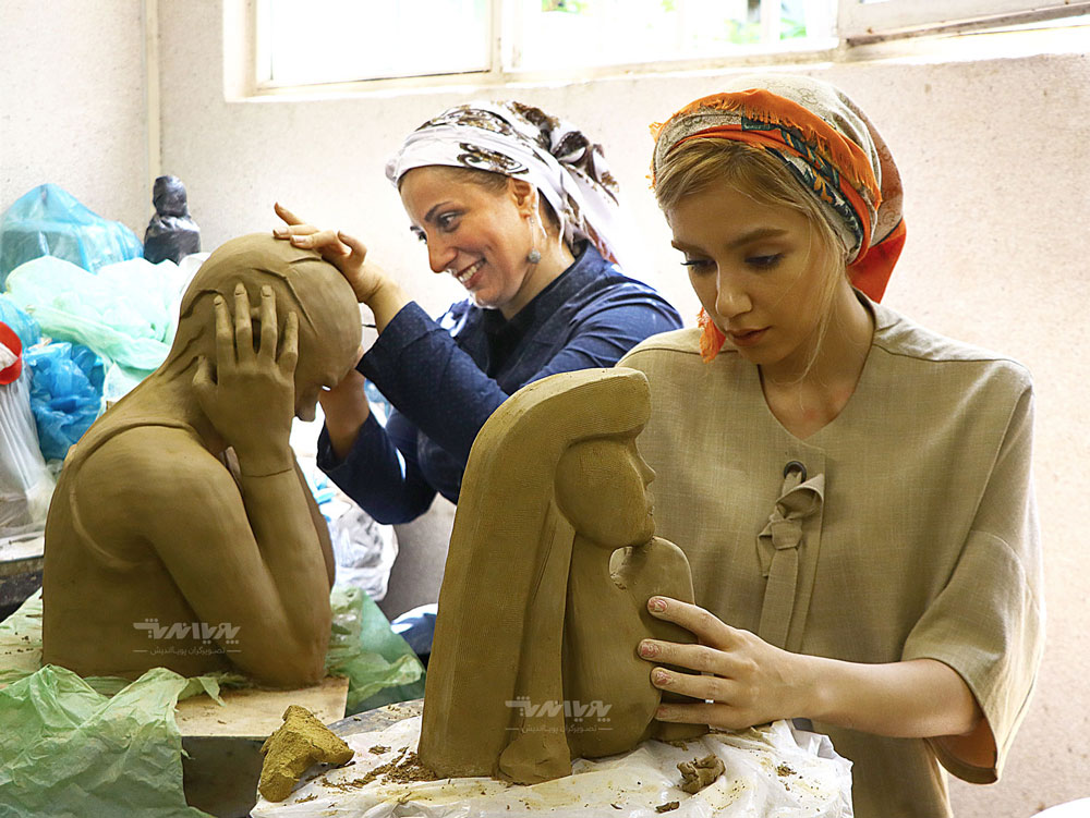 کلاس آموزش مجسمه سازی