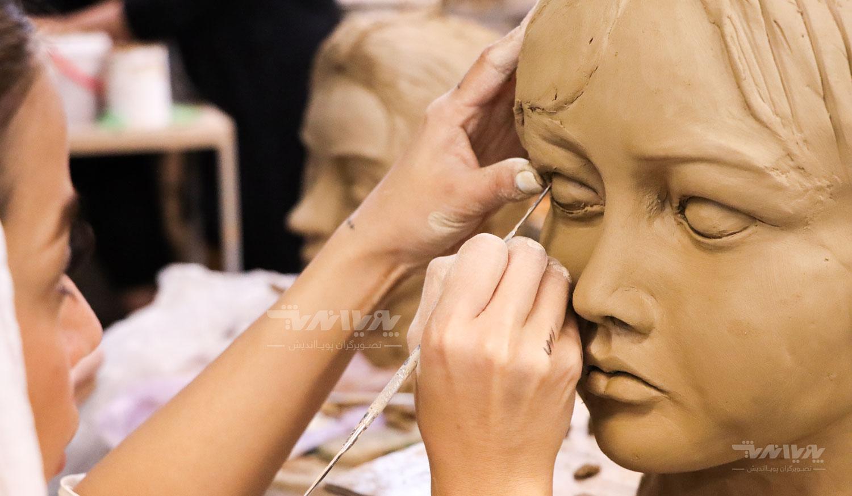 دوره کلاس های آموزش مجسمه سازی
